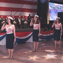 Performing at the 2011 Policeman's Ball at Mar-a-lago in West Palm Beach, FL