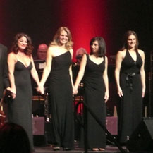 Performing at the Hammerstein Ballroom in NYC